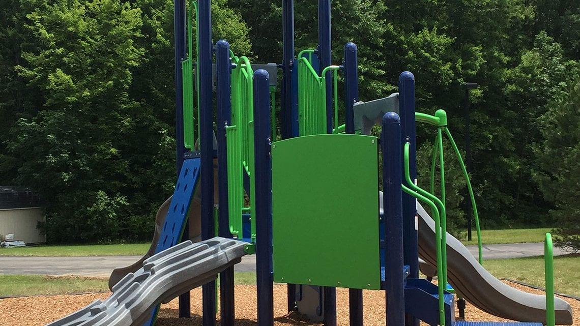 The Playground for Youth Patients of Belmont Pines | BelmontPines.com